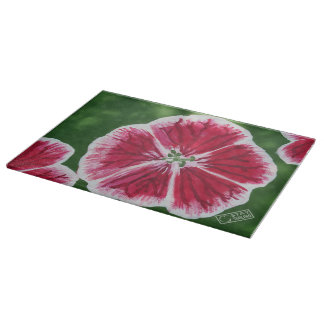 Impatiens Cutting Board
