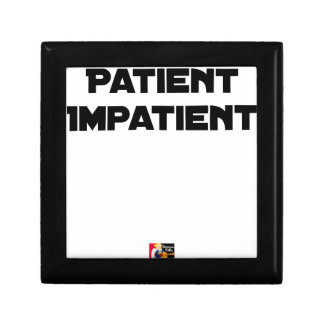 IMPATIENT PATIENT - Word games - François City Gift Box