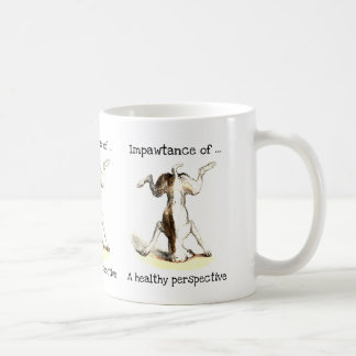 Impawtance of a healthy perspective mug
