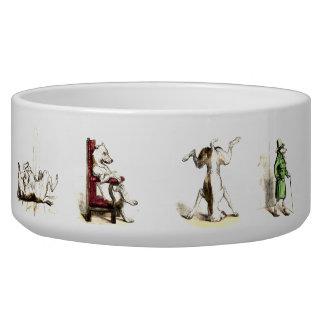 Impawtance of dog bowl