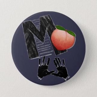 Impeach 45 7.5 cm round badge