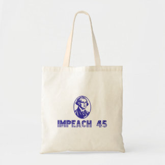 Impeach 45 (Blue Washington) Tote Bag