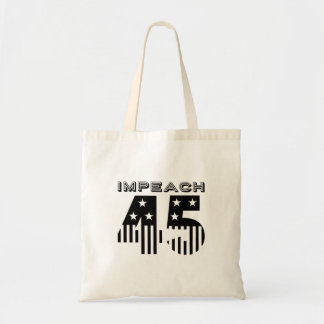 """Impeach 45"" (flag) Tote Bag"