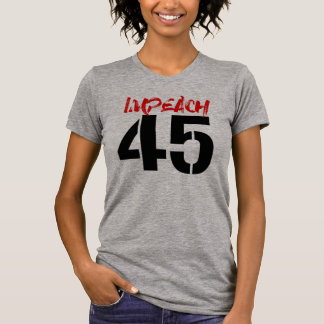 IMPEACH 45 - IMPEACH TRUMP -- No Muslim Ban - T-Shirt