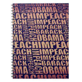 Impeach Barack Obama Note Book