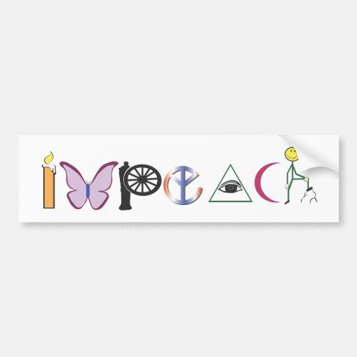 impeach-color.ai bumper stickers