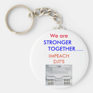 IMPEACH DONALD TRUMP KEY RING