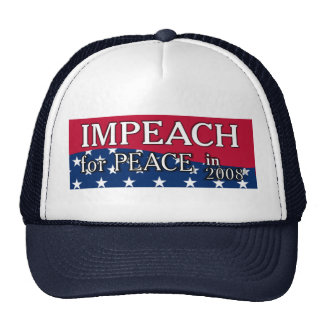 IMPEACH FOR PEACE HAT