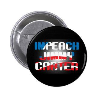 Impeach Jimmy Carter 6 Cm Round Badge