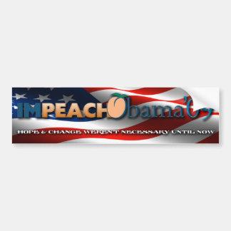 Impeach Obama09 Bumper Sticker