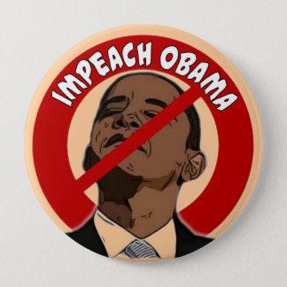 Impeach Obama 10 Cm Round Badge
