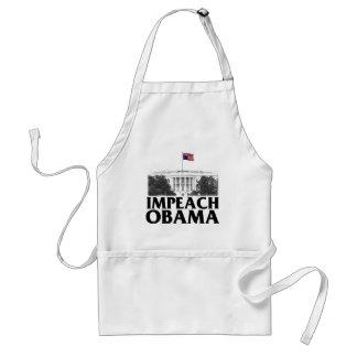 Impeach Obama Standard Apron