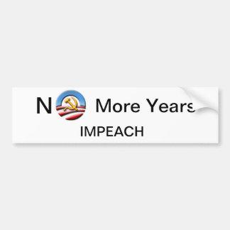 Impeach Obama, Bumper Sticker