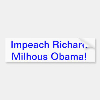 Impeach Obama Bumper Stickers
