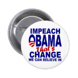 Impeach Obama Buttons