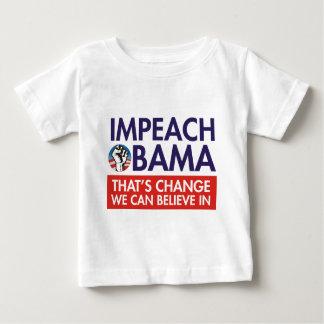 IMPEACH OBAMA CHANGE INFANT T-Shirt