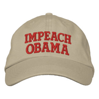 IMPEACH OBAMA EMBROIDERED CAP