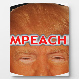 iMPEACH! Plaque