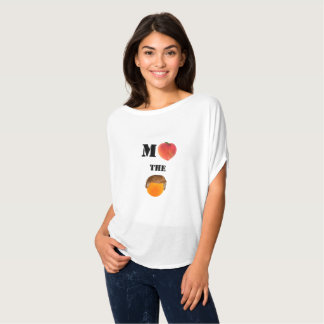 Impeach the Orange Flowy Circle Top