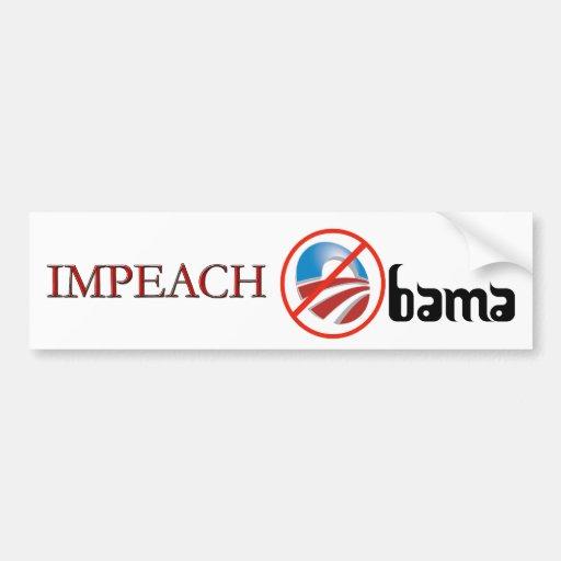 Impeach the President Bumper Stickers