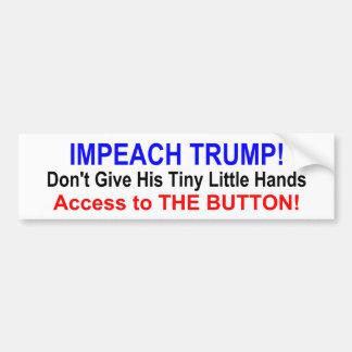 """""""IMPEACH TRUMP!"""" Bumper Sticker"""