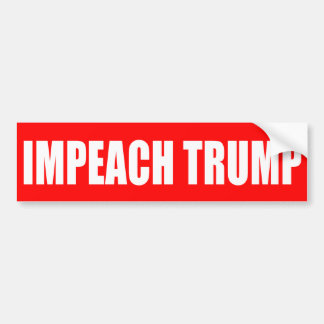 """IMPEACH TRUMP"" BUMPER STICKER"