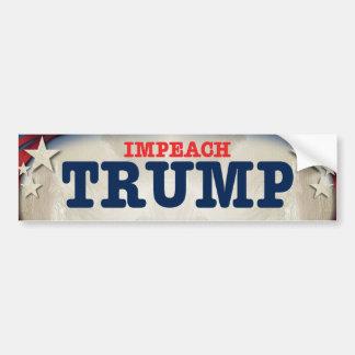 Impeach Trump Bumpersticker Bumper Sticker