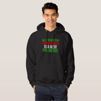 Impeach Trump Funny All I Want For Christmas Hoodie