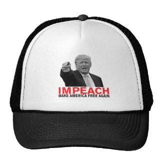 Impeach Trump Make America Free Again! Cap