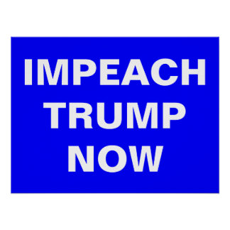Impeach Trump Now Poster