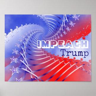 Impeach Trump Patriotic Poster