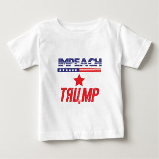Impeach Trump (patriotic variation) Baby T-Shirt