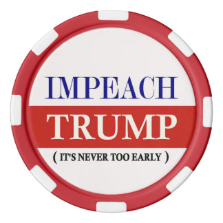Impeach Trump Poker Chips