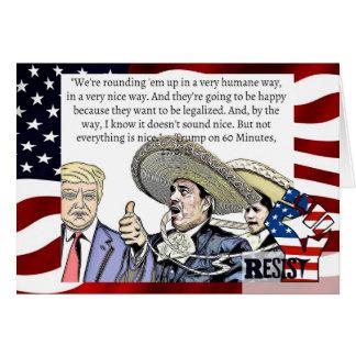 Impeach Trump, Resist Racism and Discrimination Card