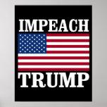 Impeach Trump - Save America -- Anti-Trump Design  Poster