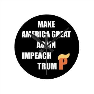 Impeach Trump Wallclocks