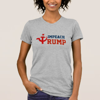 """""""Impeach Trump"""" with Russian Hammer and Sickle T-Shirt"""