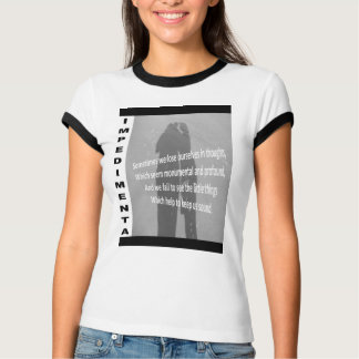 """Impedimenta"" Sometimes We Lose Ourselves ... T-Shirt"