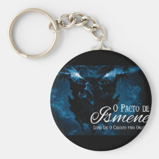 Imperdível for its collection basic round button key ring