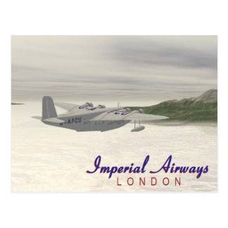 Imperial Airways Postcard