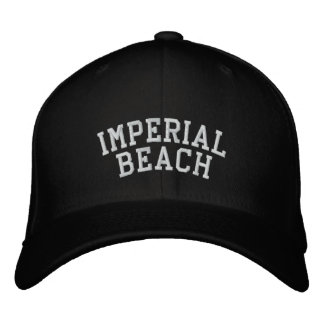 Imperial Beach Embroidered Baseball Cap