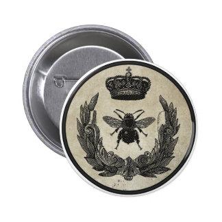 Imperial Bee 6 Cm Round Badge