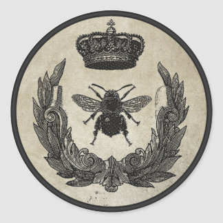 Imperial Bee Classic Round Sticker