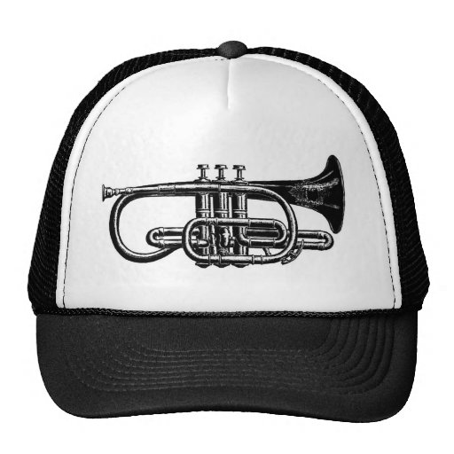Imperial Brass Cornet - Musical instrument Trucker Hat