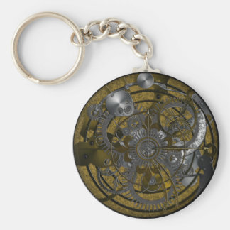 Imperial Clock Key Ring