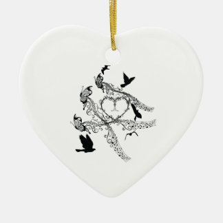 Imperial court music flapping ceramic ornament