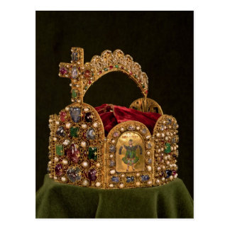 Imperial Crown made for the coronation of Otto Postcard