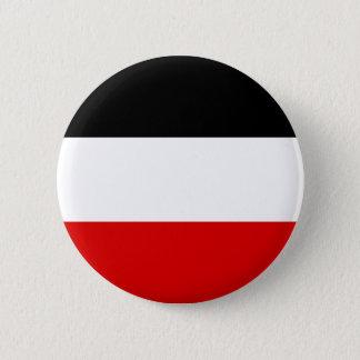 Imperial German Flag - Deutsches Kaiserreich 6 Cm Round Badge