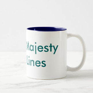 Imperial Majesty Cruise Lines Two-Tone Mug