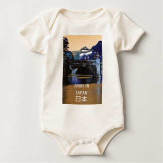 Imperial palace in Tokyo, Japan Baby Bodysuit